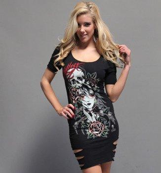 sukienka SULLEN - ROSALIE czarna