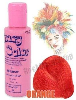 toner do włosów CRAZY COLOR - POMARAŃCZOWY/ORANGE