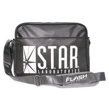 torba na ramię FLASH - STAR LAB, ciemno zielona