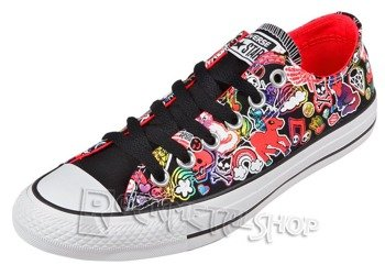 trampki CONVERSE - CHUCK TAYLOR ALL STAR CT OX BLACK MULTI