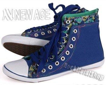 trampki NEW AGE - ROYAL BLUE