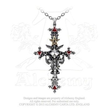 wisior ILLUMINATI CROSS