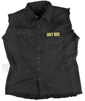 workshirt GUNS N' ROSES - BULLET LOGO