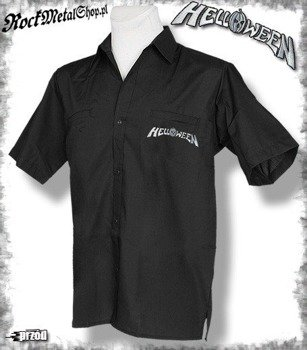 workshirt HELLOWEEN - LOGO (z)