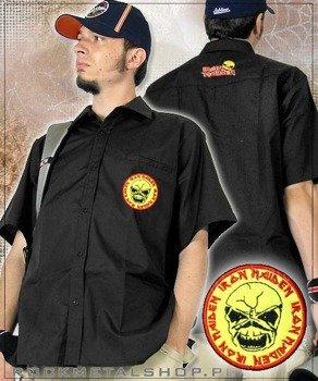 workshirt  IRON MAIDEN - YELLOW EDDIE (czarny)