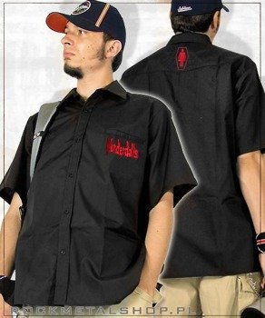 workshirt MURDERDOLLS - RED LOGO