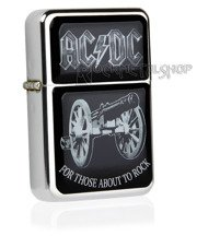 zapalniczka AC/DC - FOR THOSE ABOUT TO ROCK