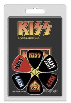 zestaw kostek KISS LP-KISS2 (6 szt)
