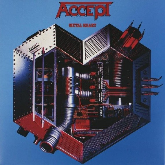 ACCEPT:  METAL HEART (LP VINYL)