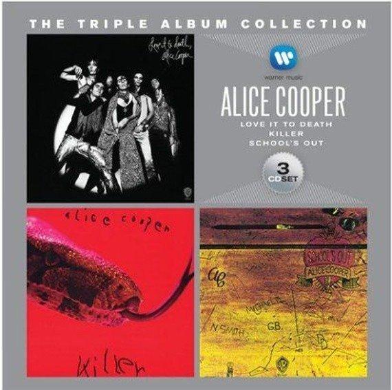 ALICE COOPER: THE TRIPLE ALBUM COLLECTION (3CD)
