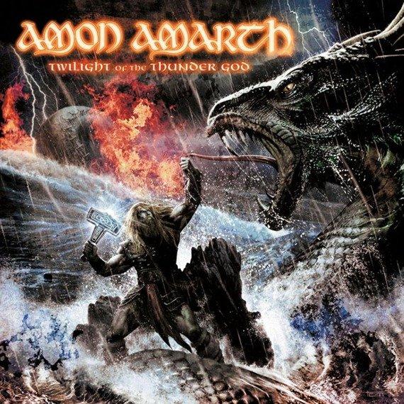 AMON AMARTH: TWILIGHT OF THE THUNDER GOD (CD)
