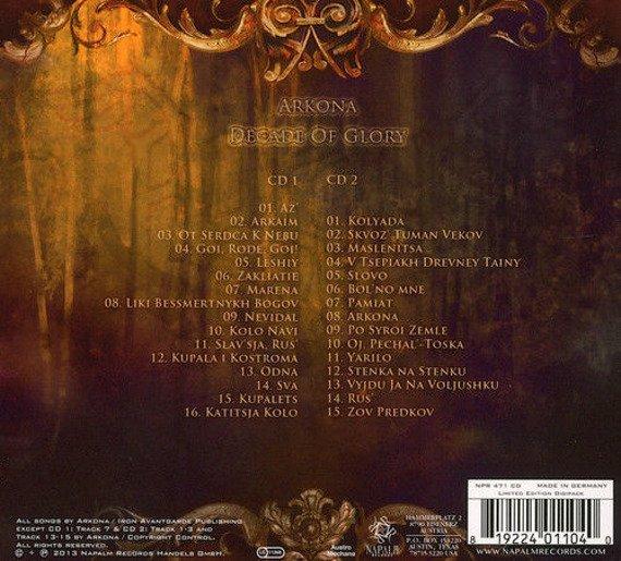 ARKONA: DECADE OF GLORY (2CD)