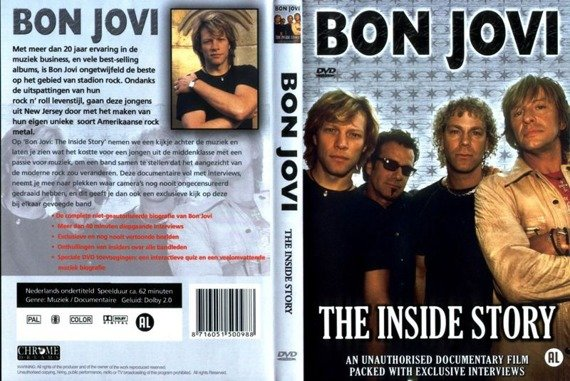 BON JOVI: THE INSIDE STORY (DVD)