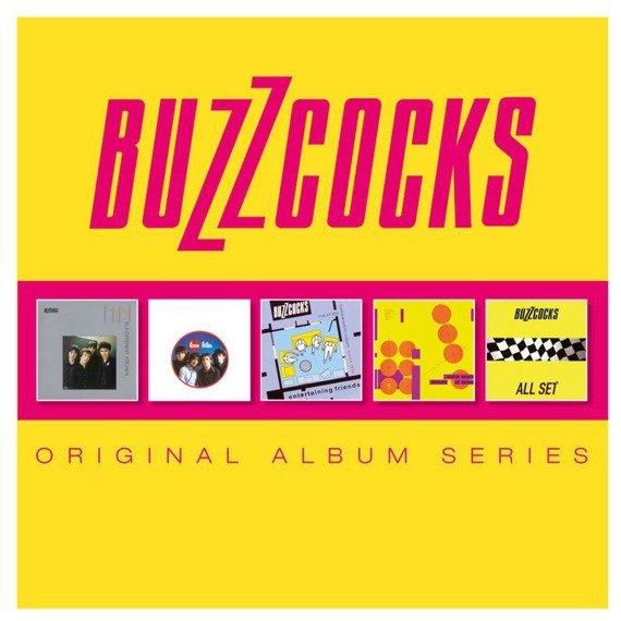 BUZZCOCKS : ORIGINAL ALBUM SERIES (5CD)