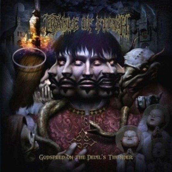 CRADLE OF FILTH: GODSPEED ON THE DEVIL'S THUNDER (CD)