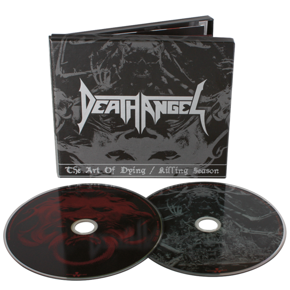 DEATH ANGEL: THE ART OF DYING / KILLING SEASON (2CD)