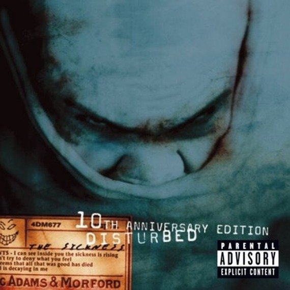 DISTURBED: THE SICKNESS (CD)