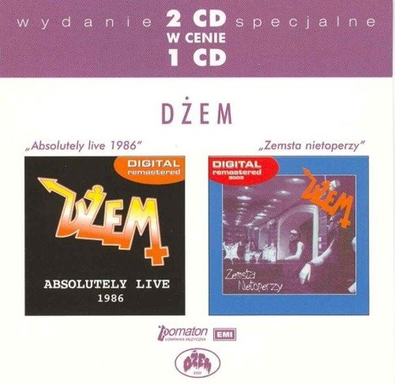 DZEM: ABSOLUTELY LIVE 1986/ZEMSTA NIETOPERZY (CD)
