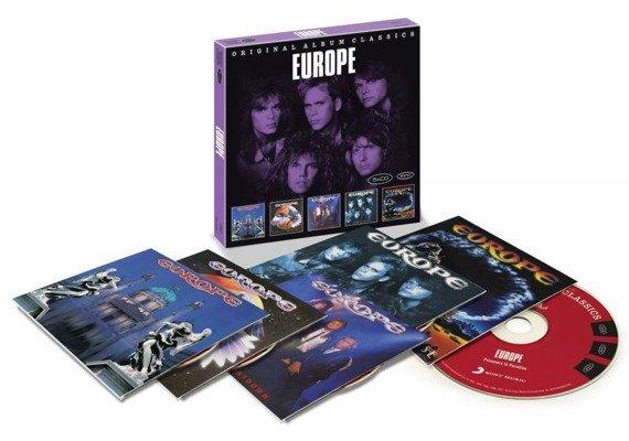 EUROPE : ORIGINAL ALBUM CLASSICS (5CD)