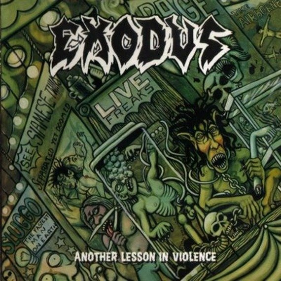 EXODUS: ANOTHER LESSON IN VIOLENCE  (LP VINYL)