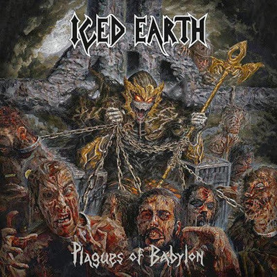 ICED EARTH : PLAGUES OF BABYLON (CD)