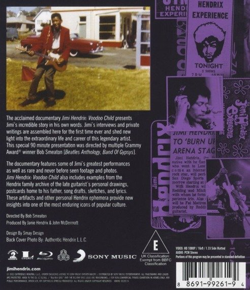 JIMI HENDRIX: WEST COAST SEATTLE BOY VOODOO CHILD (DVD)