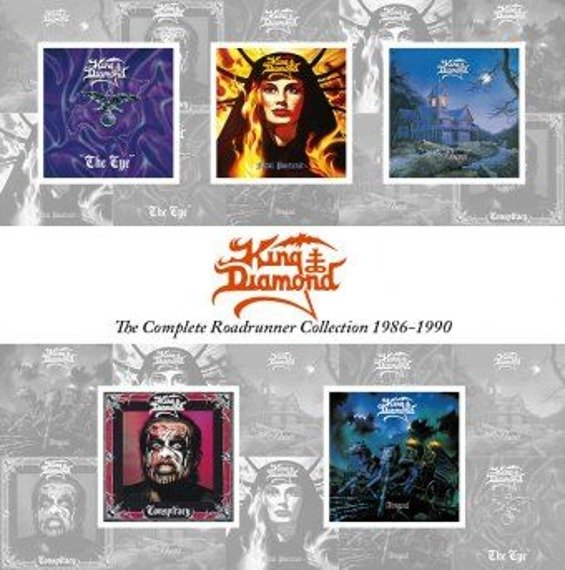KING DIAMOND: THE COMPLETE ROADRUNNER COLLECTION 1986-1990 (CD)