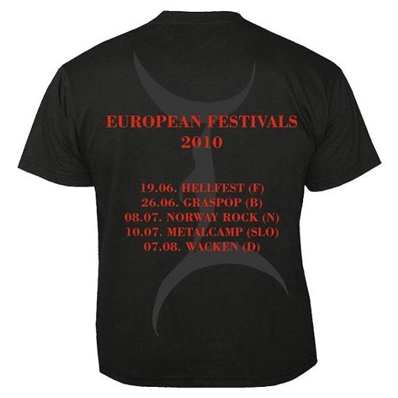 Koszulka IMMORTAL - FESTIVALS 2010