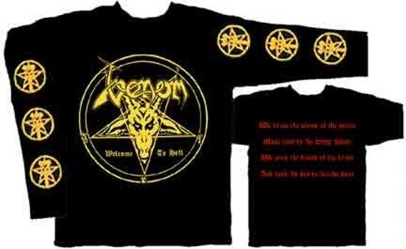 Longsleeve  VENOM - WELCOME TO HELL   (ST427)