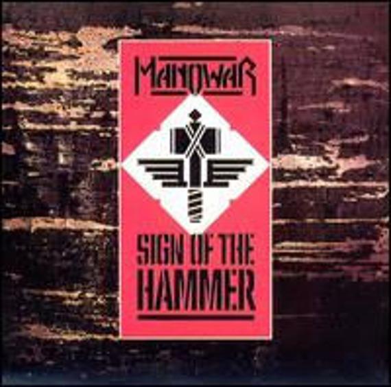 MANOWAR: SIGN OF THE HAMMER (LP VINYL)