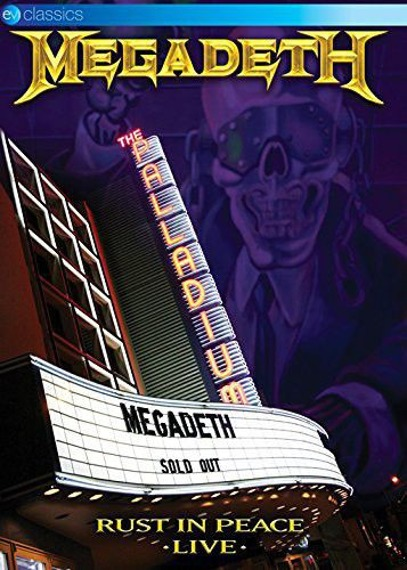 MEGADETH: RUST IN PEACE LIVE (DVD)