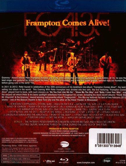 PETER FRAMPTON: FRAMPTON COMES ALIVE (BLU-RAY)
