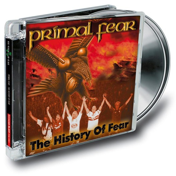 PRIMAL FEAR: THE HISTORY OF FEAR (CD+DVD)
