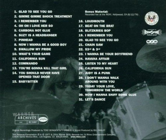 RAMONES: LEAVE HOME (CD)