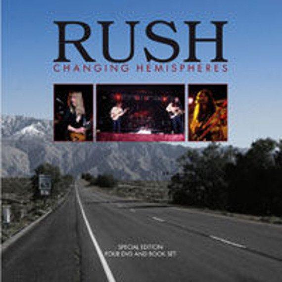 RUSH: CHANGING HEMISPHERES (BOOK + 4DVD)
