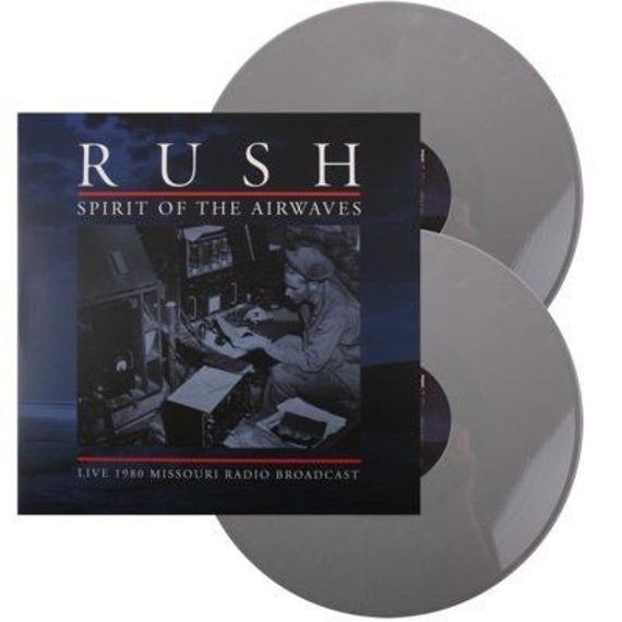 RUSH: SPIRIT OF THE AIRWAVES (2LP VINYL)  GREY
