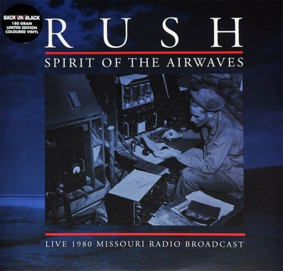 RUSH: SPIRIT OF THE AIRWAVES (2LP VINYL)  GREY