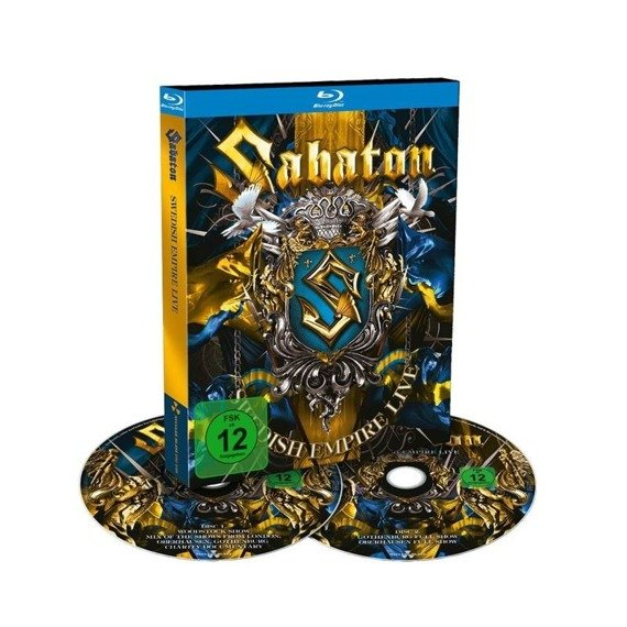 SABATON: SWEDISH EMPIRE LIVE (2 BLURAY)