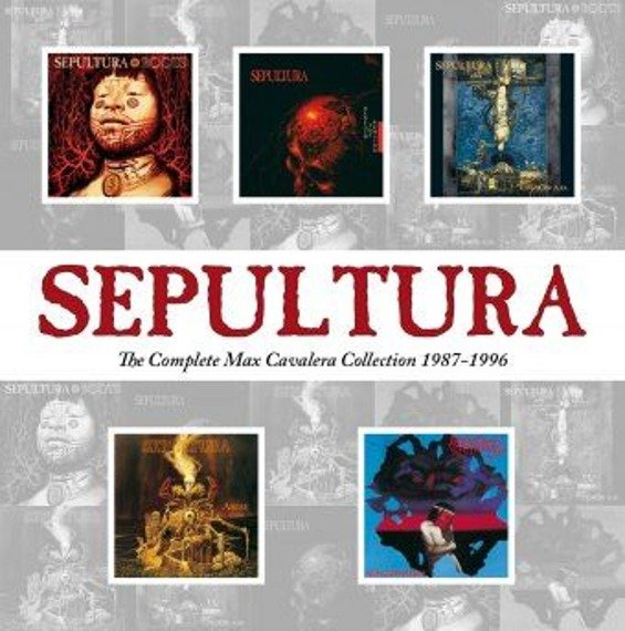 SEPULTURA: THE COMPLETE MAX CAVALERA COLLECTION 1987-1996 (CD)