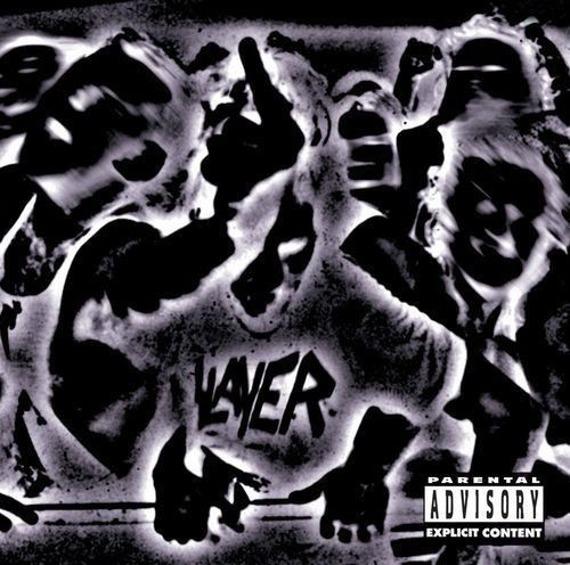 SLAYER:  UNDISPUTED ATTITUDE (LP VINYL)