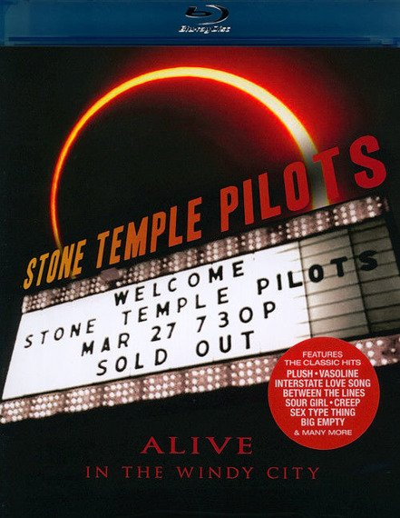 STONE TEMPLE PILOTS: ALIVE IN THE WINDY CITY (BLU-RAY)