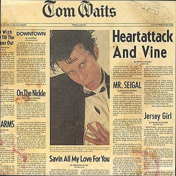 TOM WAITS: HEARTATTACK AND VINE (CD)