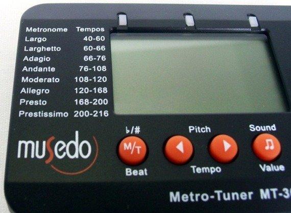 Tuner + Metronom + Kamerton MUSEDO (MT-30)