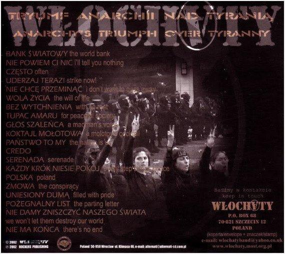 WŁOCHATY: TRYUMF ANARCHII NAD TYRANIĄ (CD)