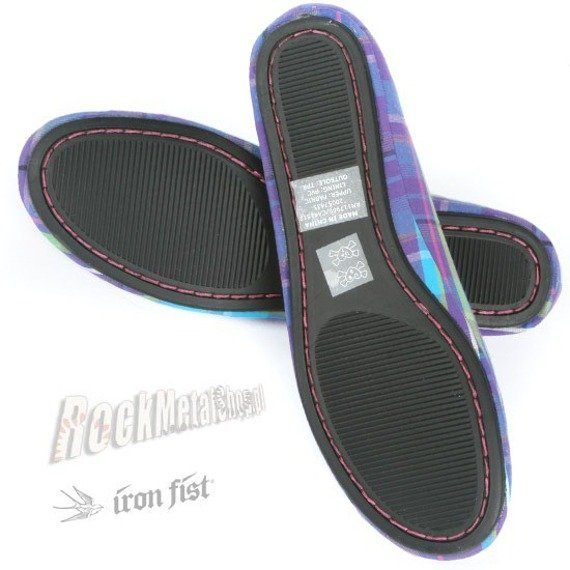 balerinki IRON FIST (Sometching Ballet Flat)(Purple)
