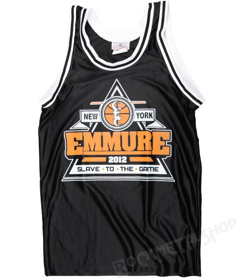 bezrękawnik EMMURE - GAME OVER BASKETBALL JERSEY