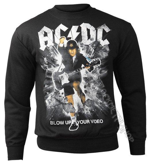 bluza AC/DC - BLOW UP YOUR VIDEO, bez kaptura