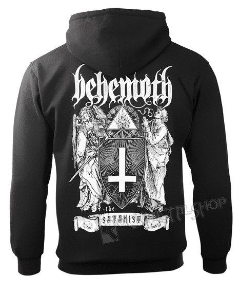 bluza BEHEMOTH - THE SATANIST, rozpinana z kapturem