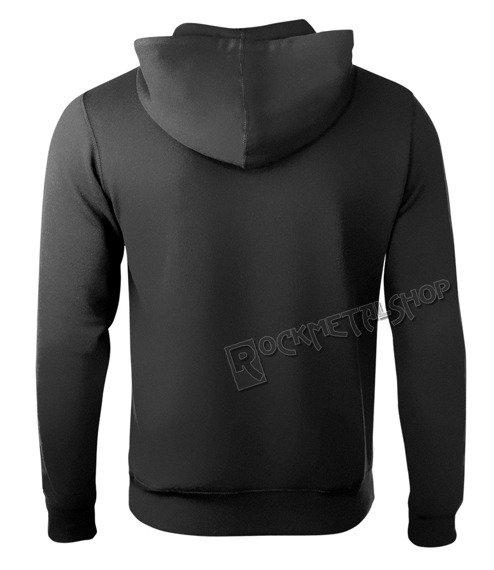 bluza BLACK CRAFT - PROTECTION MOTH, kangurka z kapturem