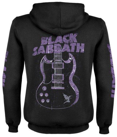 bluza BLACK SABBATH - GUITAR rozpinana, z kapturem
